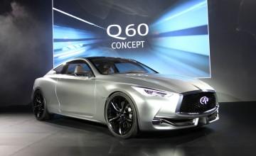 Infiniti reveals Q60 sports coupe