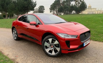 Jaguar sets electric pace