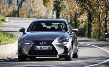 Lexus IS a car to contend with