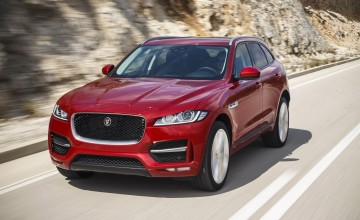 Jaguar F-PACE SUV blasts to the top