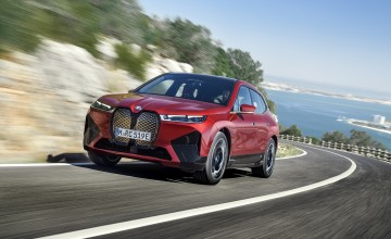 iX is BMW's EV technology flagship