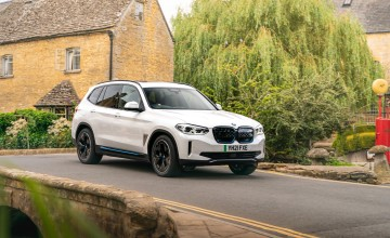 BMW X3 on electric drive