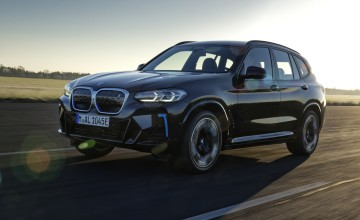 New look for BMW iX3