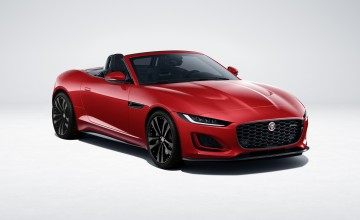 Black treatment for Jaguar F-Type