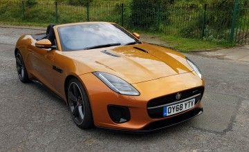 Jaguar F-TYPE 3.0 V6 R-Dynamic Convertible