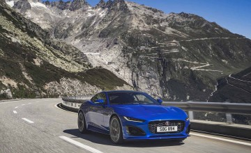 Potent new Jaguar F-Type revealed