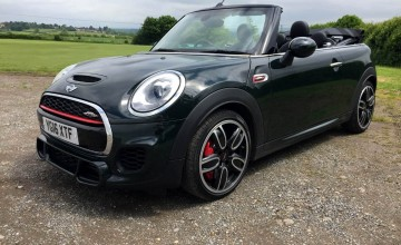 MINI John Cooper Works Convertible - First Drive