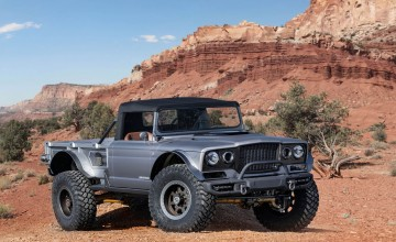 Jeep goes wild with retro thinking