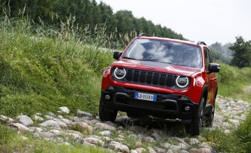 Electric Renegade arrives at Jeep