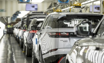 JLR to move Discovery production from UK to Slovakia