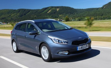 Kia impresses with new estate