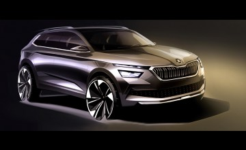 Skoda sketches out Kamiq looks
