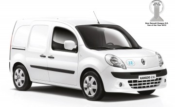 Electric Kangoo is van of the year