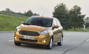 Plus mark for new Ford Ka
