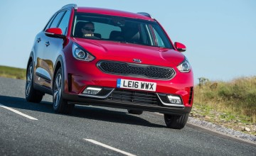 Kia on a charge with electric power