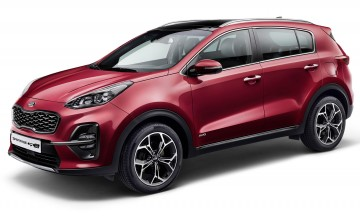 Kia Sportage Hybrid on the way