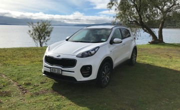 Kia Sportage big Down Under