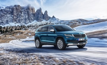 Skoda goes scouting with Kodiaq