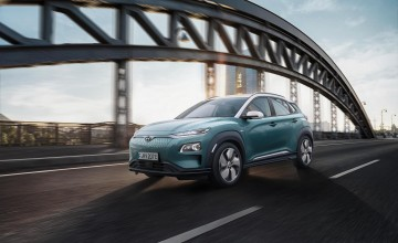 All-electric Kona SUV from Hyundai