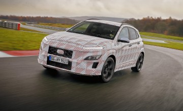 Hyundai announces 'hot' Kona SUV