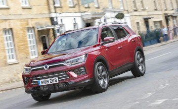 New Korando gets posh
