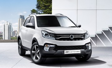New Korando from SsangYong
