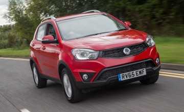 SsangYong Korando gets diesel upgrade