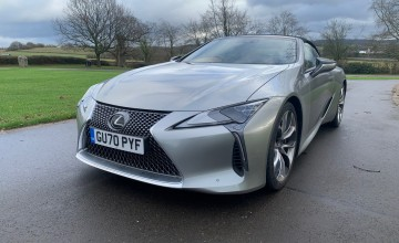 Lexus LC 500 Convertible Sport Plus Pack