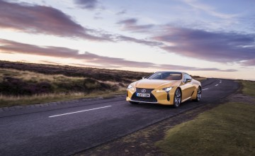 Lexus LC 500 - First Drive