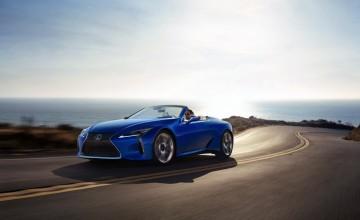 Lexus unveils LC 500 Convertible