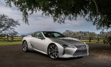 Changes to Lexus LC 500 coupe