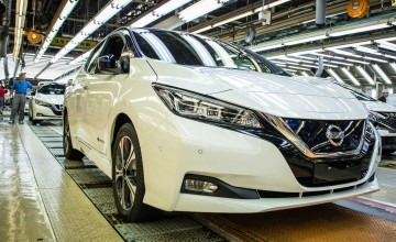 New Nissan Leaf on the way