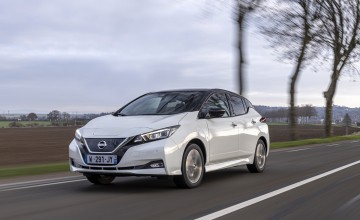 Nissan special marks 10 years of Leaf