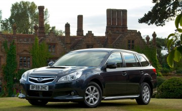 Big Subaru Legacy hugely capable