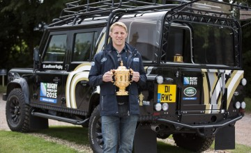 Land Rover Defender, the Webb Ellis Cup and Lewis Moody