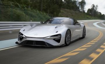 Stunning new Lexus open up