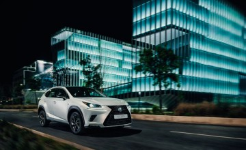 Lexus NX 300h goes sporty