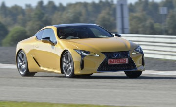 Summer debut for Lexus super coupe