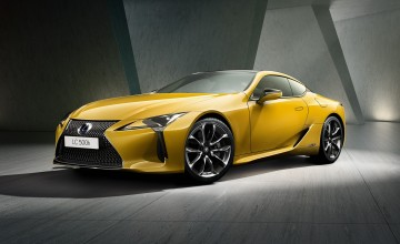 Special Lexus LC for Paris reveal