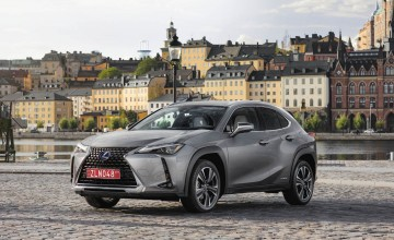 Lexus prices UX compact SUV