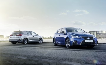 Revamp for Lexus NX and CT