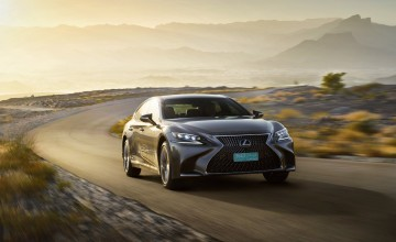 Lexus luxury at new level with LS 500h