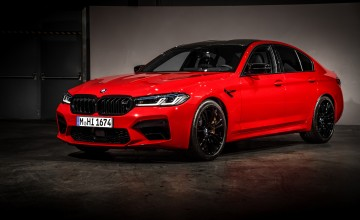 BMW makes M5 competition ready