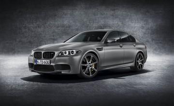 BMW celebrates with M5 power
