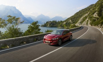 Ford reveals Mustang Mach-E electric SUV