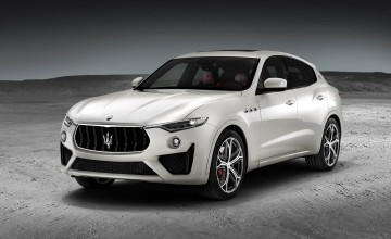 Supercar power for Maserati's SUV