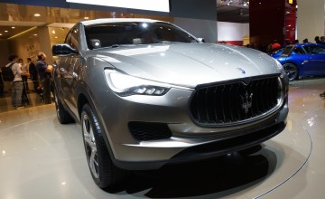 Maserati enters luxury SUV scene