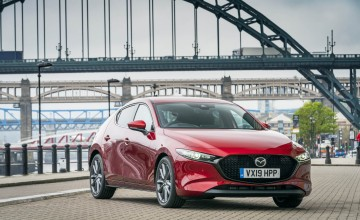 Beautiful new Mazda catches the eye