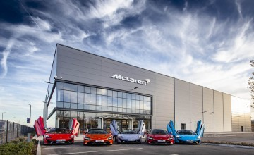 Royal opening for McLaren centre