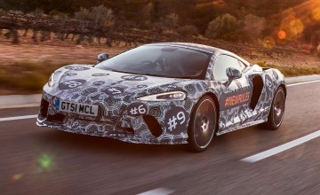 McLaren's GT strip show